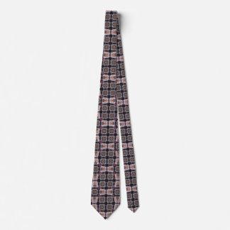 Quadrados e anéis e gravatas de estrada de ferro