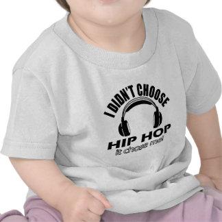 QUADRIL HOP png Camisetas