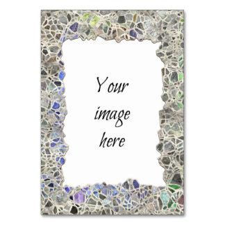 Quadro azul do mosaico
