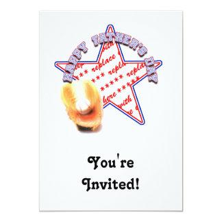 Quadro da foto de All Star do dia dos pais Convite 12.7 X 17.78cm