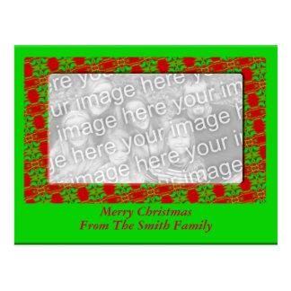 Quadro da foto do Natal Cartão Postal