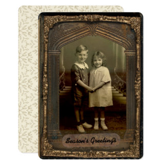 quadro da foto do vintage 5x7 & cumprimento convite 12.7 x 17.78cm