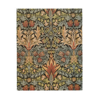 Quadro De Madeira Alcachofra de William Morris do vintage
