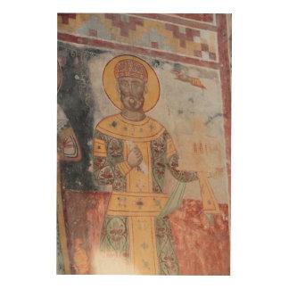 Quadro De Madeira Anchient Artwrok religioso