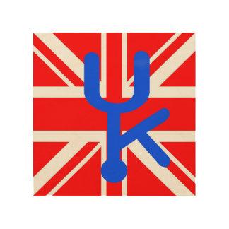 Quadro De Madeira arte da parede de Reino Unido