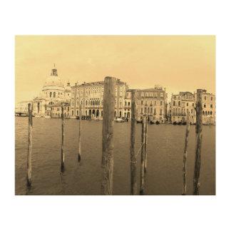 Quadro De Madeira Arte da parede de Veneza Italia