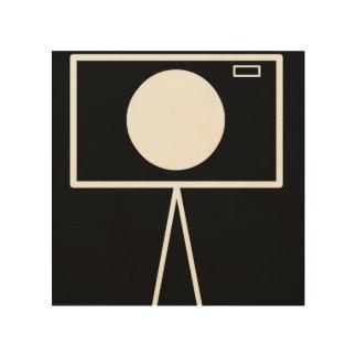 Quadro De Madeira Arte de madeira da parede de RetroCam 8x8