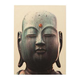 Quadro De Madeira Arte de madeira de Buddha