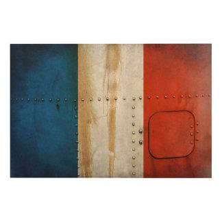 Quadro De Madeira Bandeiras de país afligidas | France