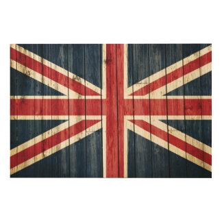 Quadro De Madeira Bandeiras de país afligidas | Grâ Bretanha