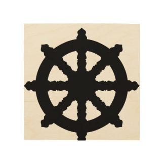 Quadro De Madeira buddha