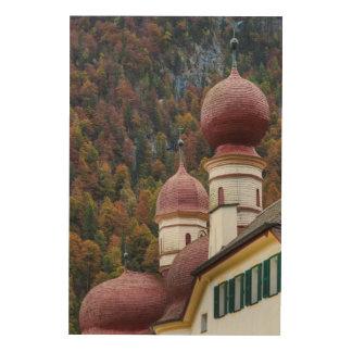 Quadro De Madeira Capela do St. Bartholoma, Baviera