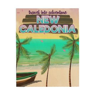 Quadro De Madeira Cartaz novo do viagem na aventura de Caledon