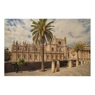 Quadro De Madeira Catedral de Sevilha na espanha