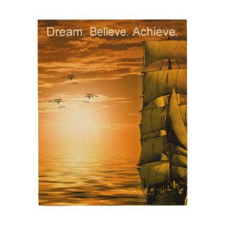 Quadro De Madeira citações inspiradas inspiradores da realização