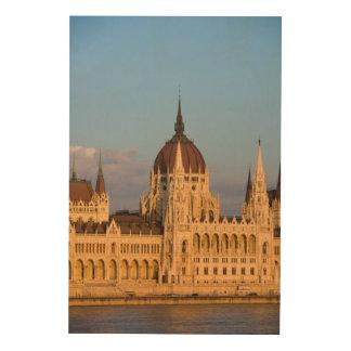 Quadro De Madeira Construção do parlamento, Hungria