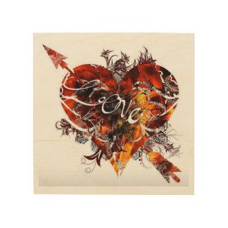 Quadro De Madeira Design do amor por Nathan Robert Simonson