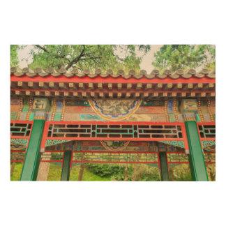 Quadro De Madeira Detalhe da ponte do palácio de verão