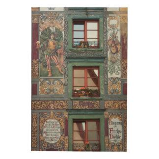 Quadro De Madeira Detalhe ornamentado do fresco, Alemanha