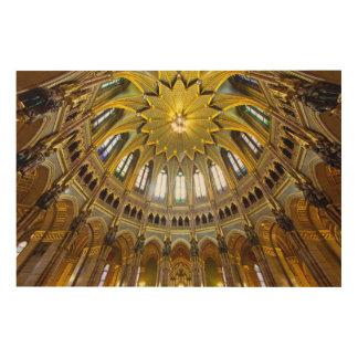 Quadro De Madeira Detalhe ornamentado do teto, interior