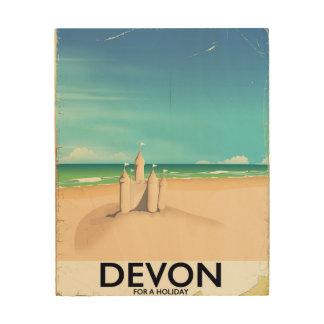Quadro De Madeira Devon, Inglaterra por um feriado