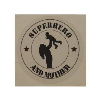 Quadro De Madeira Dias das mães
