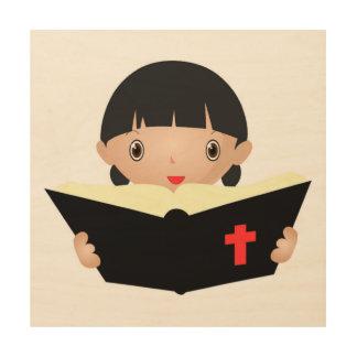 QUADRO DE MADEIRA ESTUDO DA BÍBLIA
