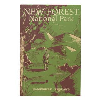 Quadro De Madeira Floresta nova, Hampshire, Inglaterra