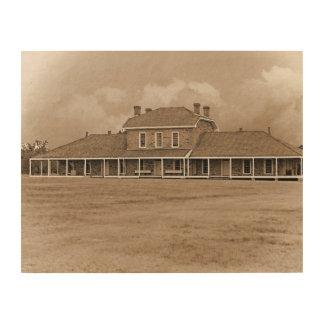 Quadro De Madeira Hospital no Ft. Richardson Texas