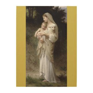 Quadro De Madeira L'Innocence William-Adolphe Bouguereau 1893