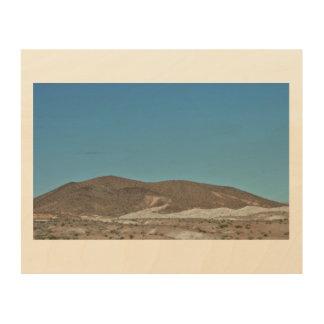 Quadro De Madeira Montanhas de Nevada