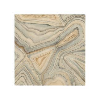 Quadro De Madeira O cinza marmoreou o design abstrato