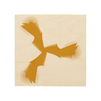 Quadro De Madeira pássaro