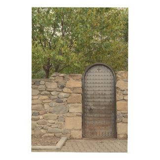 Quadro De Madeira Porta e parede do metal