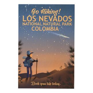 Quadro De Madeira Poster de viagens nacional do parque natural do