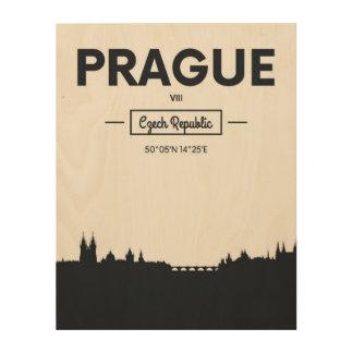 Quadro De Madeira Praga, república checa