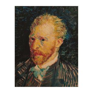 4fdf18bf91e Quadro De Madeira Retrato de auto de Vincent van Gogh