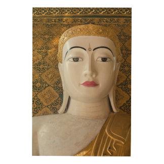 Quadro De Madeira Retrato do estado de Buddha