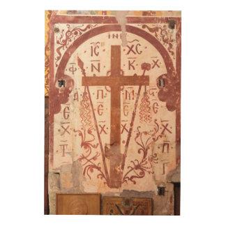 Quadro De Madeira Trabalhos de arte transversais de Christain