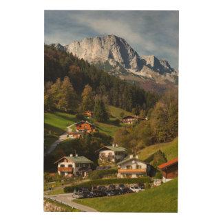 Quadro De Madeira Vila de Maria Gern, Baviera