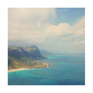 Quadro De Madeira Wild Blue Yonder