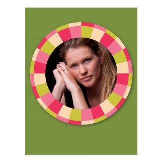 Quadro do círculo do divertimento - folha cartão postal
