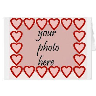 Quadro do coração para sua imagem cartões