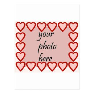 Quadro do coração para sua imagem cartão postal
