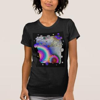Quadro do esmalte das calças 2a do pintor t-shirt