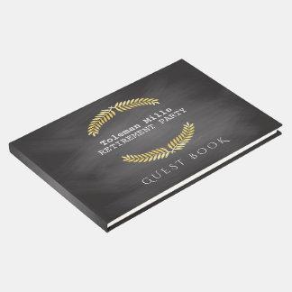 Quadro do professor do partido de aposentadoria | livro de visitas
