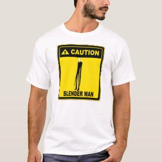 Quadro indicador de Slenderman Camiseta