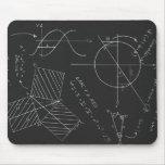 Quadro-negro da matemática mousepad