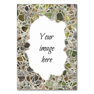 Quadro verde do mosaico