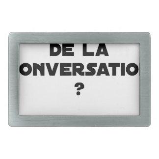 QUAL É O ATUM DA CONVERSAÇÃO